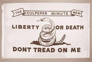 Culpepper Flag with Liberty or Death